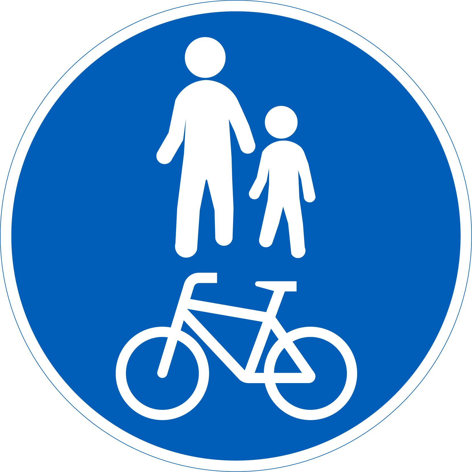 Pyörätie Liikennemerkki